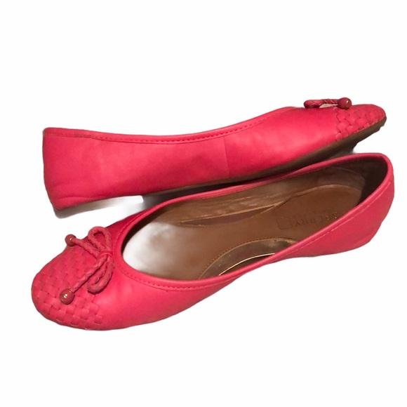 Sperry Pink Ballet Flats